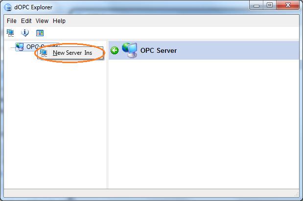 Add Arduino OPC Server to dOPC Explorer