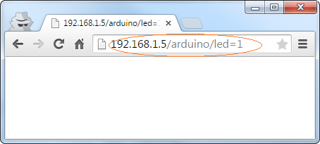 Turning on Arduino YUN led using the browser